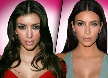 Kim Kardashian's Before and After